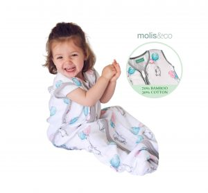 Molis&Co Muslin Sleeping Bag and Sack