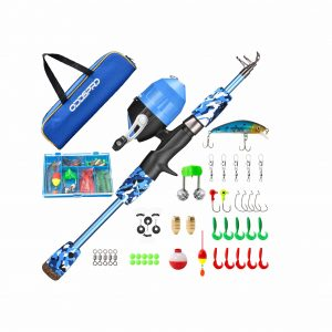 ODDSPRO Kids' Fishing Spinning Rod and Reel