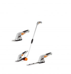 VonHaus 7.2V 2-In-1 Grass and Hedge Trimmer