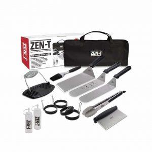 ZEN-T 14-Pieces Grille Griddle BBQ Tool Set