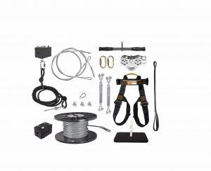Ziplinegear 150′ Zip Line Kit w: Trolley