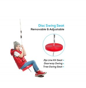 Hi-Na Zip Line Kit for Backyard Play