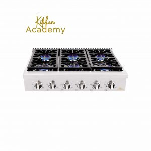 Kitchen Academy Steel Stainless Cooktop