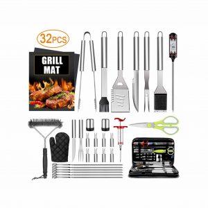 TAIMASI 32-Pieces BBQ Tool Grill Set