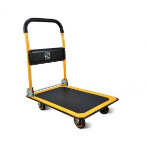 Wellmax Push Cart with 360 Degree Swivel Wheels and 660lbs. Weight Capacity