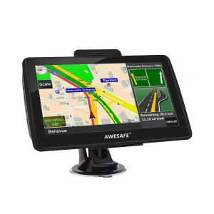 AWESAFE 7-Inches Touch Screen Car GPS Navigation DriveSmart