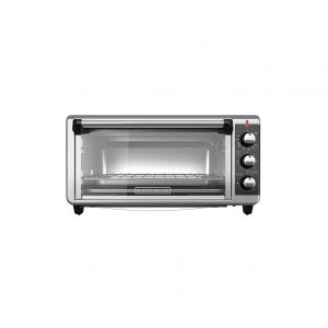 BLACK+DECKER TO3250XSB 8-Slice Convection Countertop Extra Wide Toaster