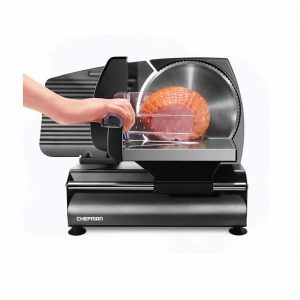Chefman Die-Cast Electric Food Slicer