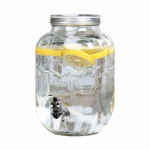 Estilo Glass Beverage Drink Dispenser