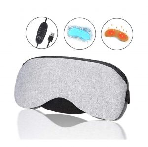 Hiverst Portable Hot and Cold Heated Eye Mask