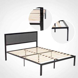 LAGRIMA Metal Queen Bed Frame