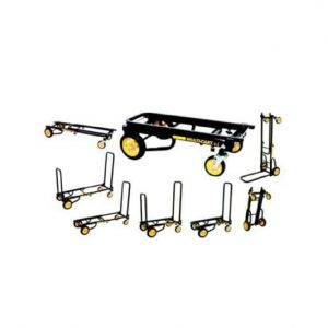 Rock-N-Roller Hand Truck with Telescoping Frame, Black