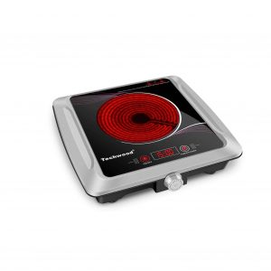 Techwood 1500W Hot Plate Electric Burner Hot Plate