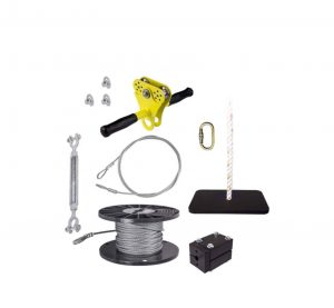 ZLP Zip Line Kit with Seat – 150′