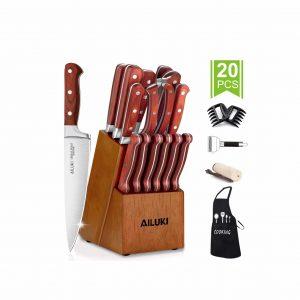 AILUKI Knife Set