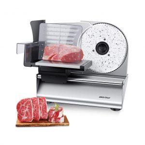 AKG Chef Electric Food Slicer 180W Motor