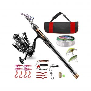 Bluefire Fishing Rod and Reel Combo