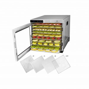ChefWave 10-Tray Food Dehydrator Machine