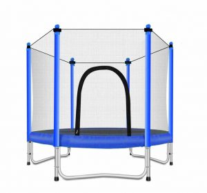Fashionsport OUTFITTERS Trampoline w: Safety Enclosure – Blue