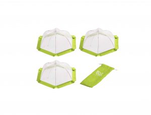 H. Food Tent Covers (3 Pack) Large Mesh Food Covers