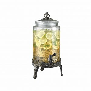 HC Elegant Home Quality Glass Beverage Dispenser