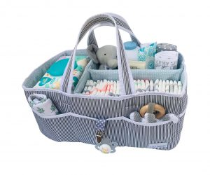 Lily Miles Baby Diaper Caddy Tote Bag