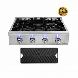 Thor Kitchen 30-Inches Stainless Steel Gas Cooktop