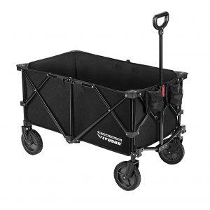 VIVOSUN HEAVY Duty Folding Wagon Cart