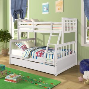 Harper&Bright Designs Twin Loft Bed