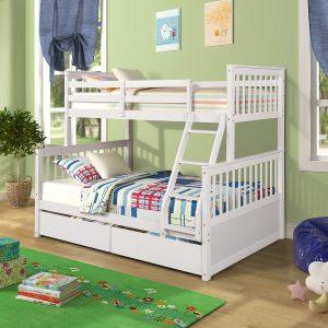 Harper&Bright Designs Twin Loft Bed