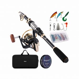 Magreel Telescopic Fishing Reel and Rod