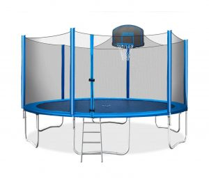 Merax 15 feet Trampoline with a Safety Enclosure Net