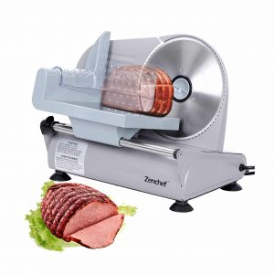 SUPER DEAL Premium Stainless Steel Electric Meat Slicer