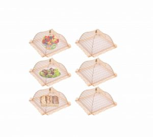 Suggee Large and Tall Pop-Up 17×17 Mesh Food Covers, 6 pack
