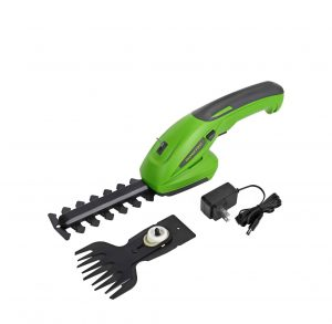 WORKPRO 7.2V 2-In-1 Cordless Grass Shear and Shrubbery Trimmer