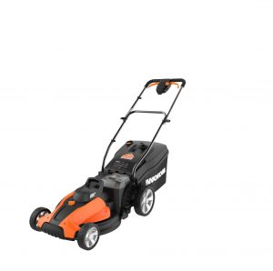 WORX WG744 17″ Lawn Mower with Mulching