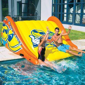 WOW Watersports Slide N Smile Inflatable Pool