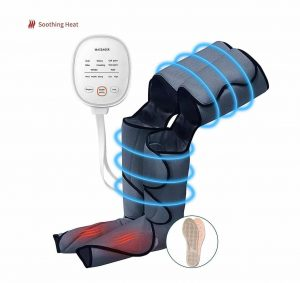 CLORIS Leg Massager Foot Massager with Heat Function and 6 Modes