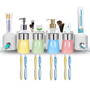 E-ROOM TREND Wall-Mounted Toothbrush Holder