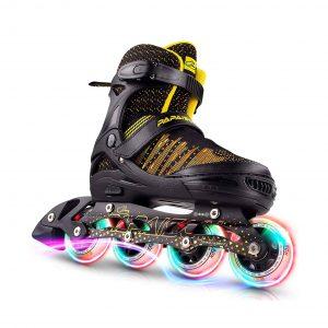 PAPAISON Fly Knitting Upper Adjustable Inline Skates