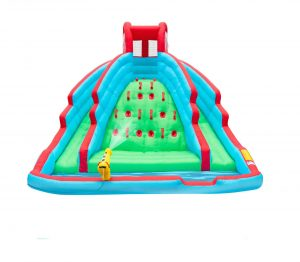 Sunny & Fun Deluxe Inflatable Water Slide Pool