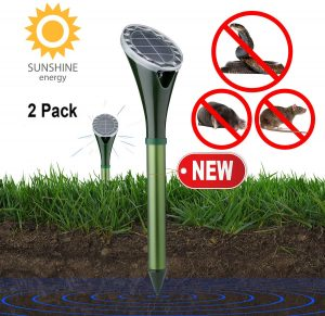 Tysonir Solar Powered Snake Mole Repellent