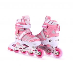 Aceshin Adjustable Inline Skates for Kids