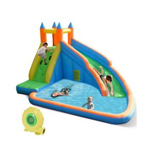 Costzone Inflatable Slide Bouncer Pool with Slide