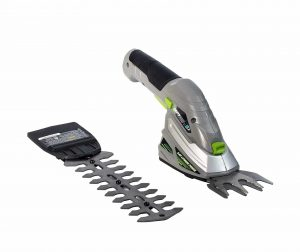 Earthwise Cordless Rechargeable 2-In-1 Shear and Hedge Trimmer