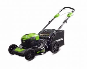 Greenworks 21-Inch Self-Propelled Lawn Mower, MO40L02
