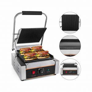 Happybuy 110V Commercial 1800W Electric Sandwich Maker