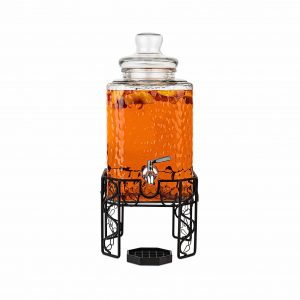 Kitchetoolz 2.5-Gallon Glass Beverage Dispenser