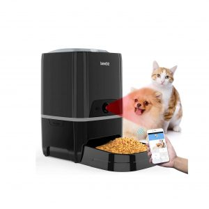 SEISSO Smart Pet Feeder with Wi-Fi Large Capacity