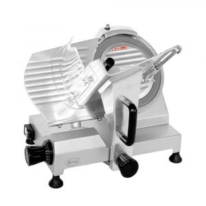 ZICA 10-Inches Chrome-Plated Carbon Steel Blade Electric Food Slicer